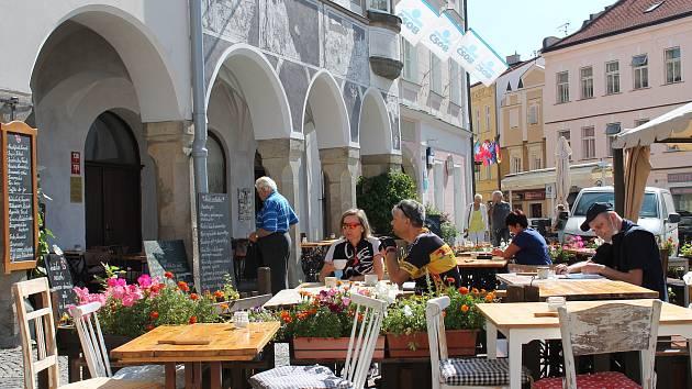 Návštěvnost restauračních zařízení je na  Jindřichohradecku v létě různá. Většinou je však letos v létě nižší než v předchozích letech v tomto období.