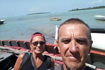 Svou velkou cestu zakončili Milena a Josef Andrle na Mauriciu.