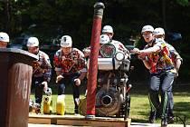 V Panských Dubenkách odstartovala prvním kolem Jindřichohradecká hasičská liga.