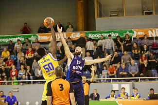 Jindřichohradecká Basket Fio banka v domácí premiéře prohrála s Kolínem.