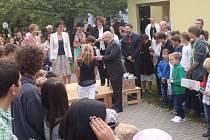 Zahájení školního roku na 3. základní škole v Jindřichově Hradci.