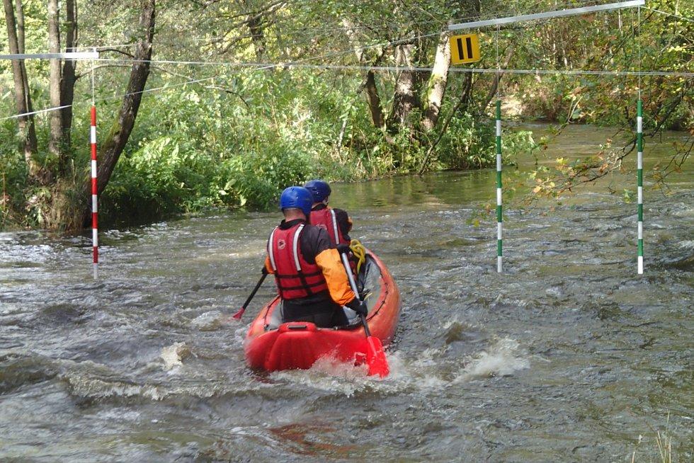 Na spodním úseku Hamerského potoka se v sobotu bude konat 42. ročník závodu mládeže Hameráček.