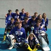 Hokejbaloví starší žáci SK Suchdol nad Lužnicí si zahrají na mistrovství republiky.