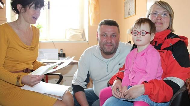 Zápis dětí do mateřské školy v Růžové ulici v Jindřichově Hradci.