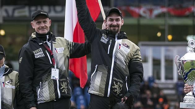 Jihočech Václav Ouška o víkendu v Dánsku vybojoval na mistrovství světa německých ovčáků WUSV se svým čtyřnohým parťákem Qvidem Vepeden již druhý titul mistra světa.