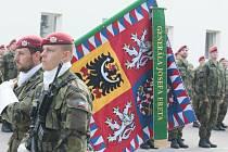 K oslavám výročí 4. brigády rychlého nasazení se připojil jindřichohradecký 44. lehký motorizovaný prapor.