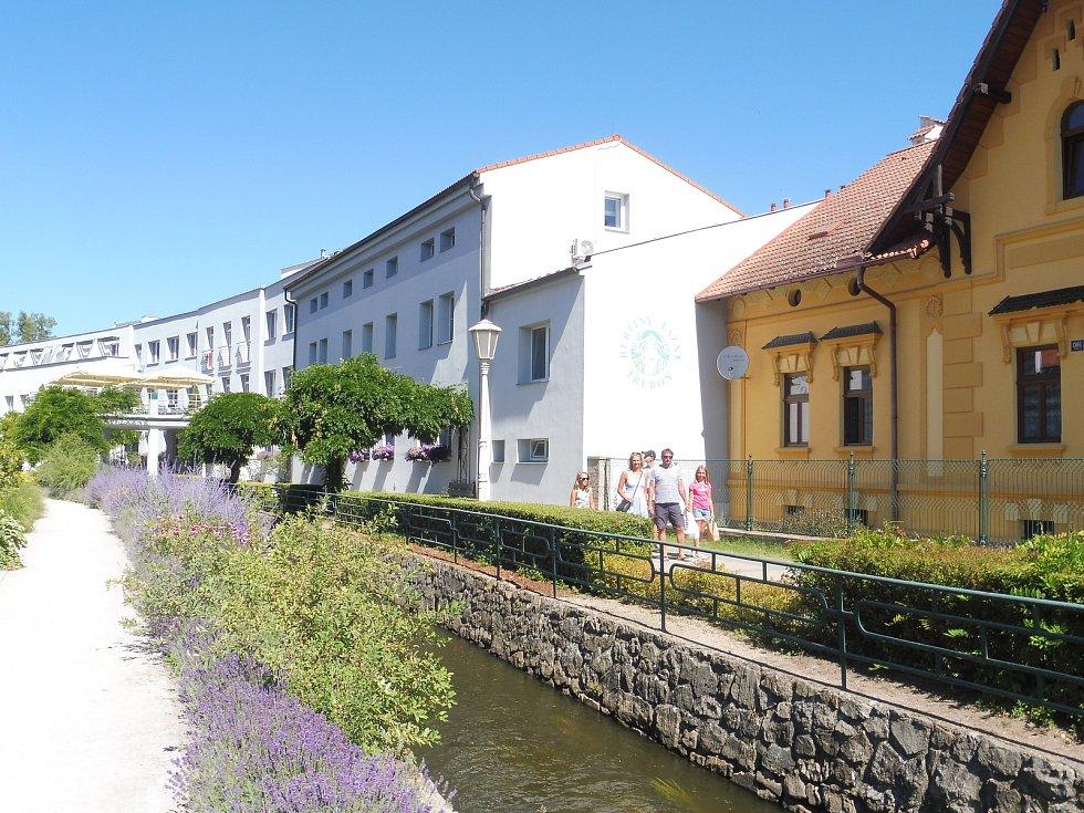 Bertiny lázně v Třeboni.