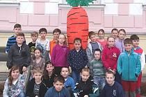 V základní škole v Nové Bystřici slaví 4. dubna Den mrkve.