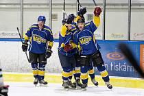 Jindřichohradečtí hokejisté si zahrají finále krajské ligy.