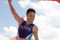 Triatlonista Martin Novák z TC Vaněk J. Hradec.