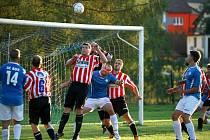 O víkendu na Jindřichohradecku dalším kolem pokračují fotbalové soutěže.