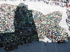 Kapr na třeboňském náměstí byl 40 metrů dlouhý a dvacet široký.