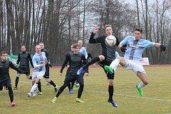 Po zimní pauze začala druhá část fotbalového krajského přeboru.