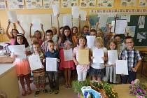 V Lužnici se rozloučili se školním rokem i s páťáky.