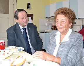 Marie Kašková z J. Hradce se dožívá 100 let