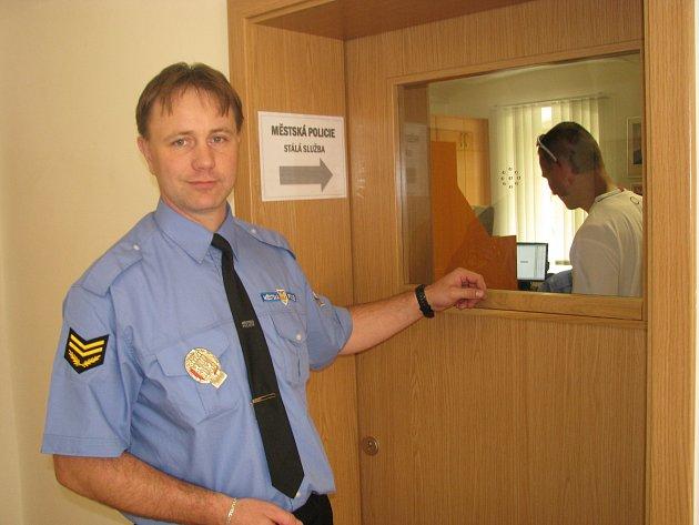 Nová služebna Městské policie v Jindřichově Hradci.