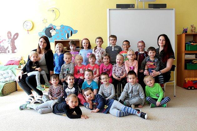 """3. mateřská škola """"UBilly"""" na sídlišti Vajgar vJindřichově Hradci – třída Sluníčko."""