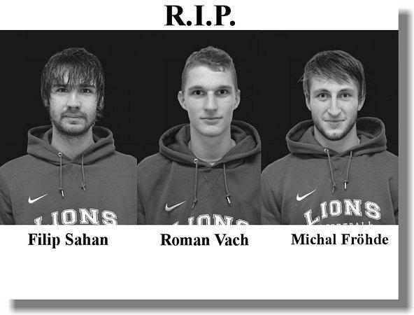 Při tragické nehodě uPleší vúterý večer zahynuli tři jindřichohradečtí basketbalisté.
