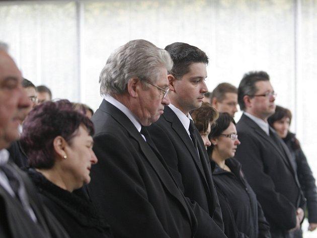 Pohřeb Soni Illeové.
