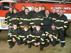 Ze života hasičů ve Strmilově.