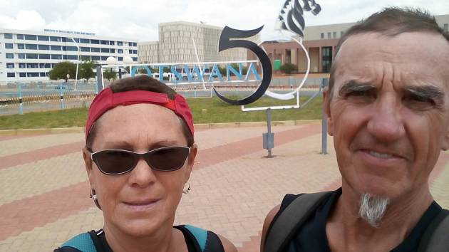 Cestovatelé z Jihoafrické republiky vyrazili do Botswany.