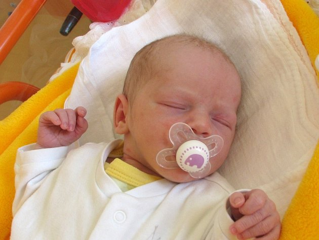 Agáta Kolářová ze Strmilova se narodila 24. dubna 2013 Pavle a Lubošovi Kolářovým. Vážila 2990 gramů a měřila 49 centimetrů.