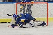 Hokejisté HC Vajgar porazili v 3. kole krajské ligy na svém ledě Soběslav 7:4.