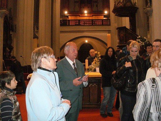 Noc kostelů v Jindřichově Hradci