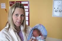 Jiří Pavel ze Štěpánovic se narodil 21. listopadu 2013 Anně a Jiřímu Pavlovým. Vážil 2100 gramů.
