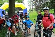 Na akci Přes kopec na Hradec aneb Jindřichohradecký pedál se vydalo přes šest set cyklistů.
