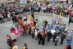 V neděli se v Jindřichově Hradci konal tradiční masopust.