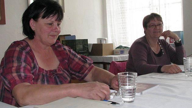 Volby v Sedle u Číměře.