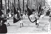 Provmájové oslavy v Třeboni.