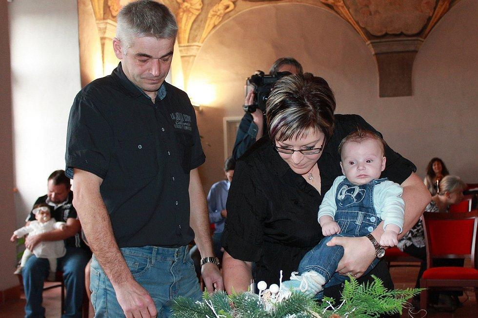 V Jindřichově Hradci se poprvé v roce 2018 konalo vítání občánků.