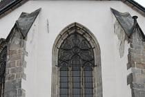Kostel Nanebevzetí Panny Marie v Jindřichově Hradci.