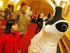 Svatební veletrh v Třeboni.
