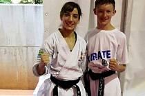 Vít Masař a světová šampionka Sandra Sanchez ze Španělska po společném tréninku v Umagu.