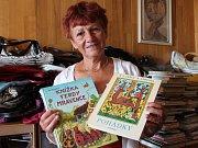 Krásné dětské knížky darovala do Kabelkového veletrhu Deníku Marie Šimáčková z Chlumu u Třeboně.