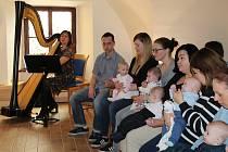 V Nové Bystřici se konalo vítání nově narozených dětí.