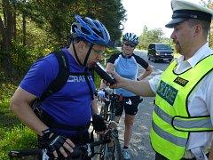 Policisté budou v létě více kontrolovat také cyklisty.
