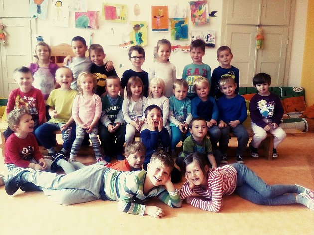 Děti zmateřské školy vLužnici.
