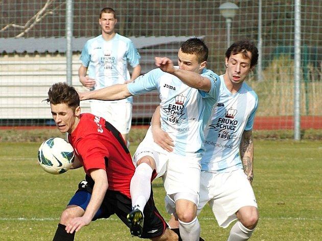Divizní derby skončilo u Vajgaru smírně. J. Hradec - Táborsko B 1:1.