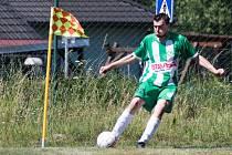 Fotbalisté Lásenice by se postupu do okresního přeboru nebránili. Na snímku dlouholetá opora Jan Demeter.