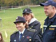 Dana Jahodová vede již řadu let ve Studené hasičský potěr.