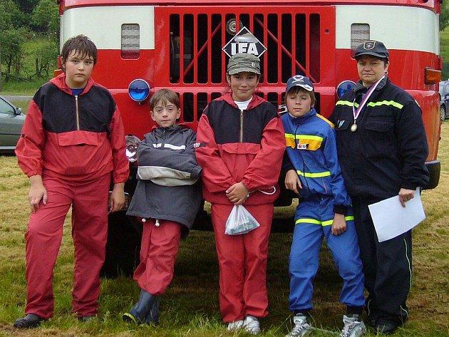 Studenský hasičský potěr pod vedením Dany Jahodové