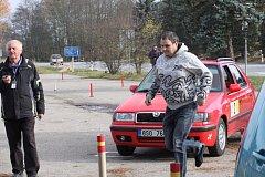 V Jindřichově Hradci a okolí se jel automobilový orientační závod Jindřichohradecký kapr.