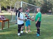 Fotbalový turnaj v Halámkách vyhráli hokejisté.
