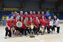 Jindřichohradecké házenkářky v přípravě na nový ročník I. ligy vyhrály domácí turnaj Novadomus Cup.