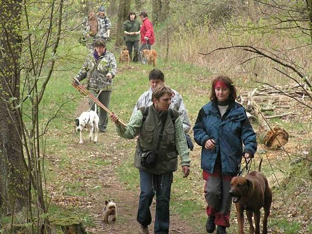 Jarní psí pochod ve Strmilově se vydařil.
