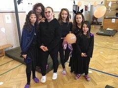 Žáci 2. základní školy v Jindřichově Hradci si užili halloweenskou párty.